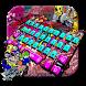 Rock Graffiti Keyboard Theme by Super Cool Keyboard Theme