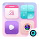 Pinky Color Theme-ABC launcher by ABC launcher