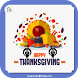 Thanksgiving Greeting Cards by Basic Sense Creation
