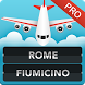 FLIGHTS Rome Fiumicino Pro by FlightInfoApps.com