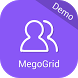 Mego User Sample App by MEGOGRID