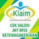 e-Klaim Saldo JHT BPJS Ketenagakerjaan