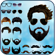 Men beard photo editor salon - mustache hairstyle by SignInDroid