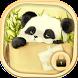 Kawaii panda bamboo theme by livewallpaperdesigner2017
