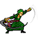 ZORO Hunter Pirate by Cartoon Games Inc.