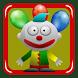 Circus Clown catches smileys by Rudie Ekkelenkamp