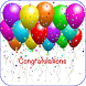 Congratulations Greeting Cards by iuniqueapps