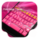 Pink Hearts -Kitty Keyboard by Kitty Emoji Keyboard Design