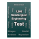Metallurgical Engineering Test by Thangadurai R