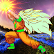 Saiyan Goku Fight Warrior Z by INFINITEAPP