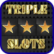 Triple Star Slot Machine by i Play Zone . Org