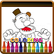Coloring Book Five Nights by mediadevappsuccess