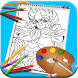 How to Draw Saint Seiya by Seven Games Art