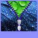 Raindrops Zipper Lock Screen by Zipper Lock Screen HQ