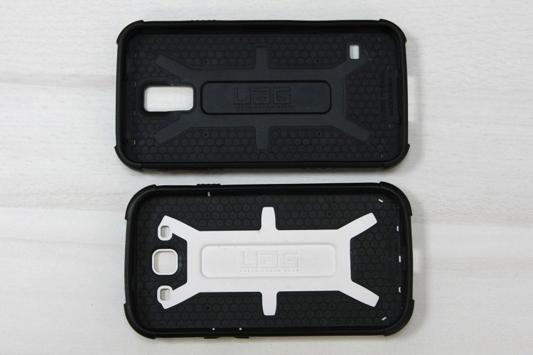 UAG Samsung Galaxy S5 case inner side