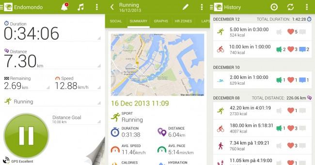 Endomondo Android Cycling App