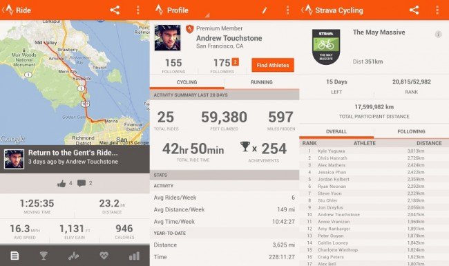 Strava Cycling for Android