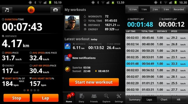 Sports Tracker for Android