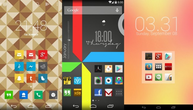 Best Free Android Icon Packs - March / April 2014