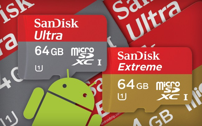 SanDisk Extreme vs Ultra 64GB microSDXC - Quick Review