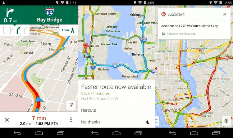 Google Maps 8.0.0 - Offline Maps, Transit Walking Times, Uber Integration and More Goodies + APK Download
