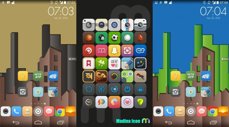 Madina Icons for Android by IND190