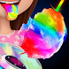 Glowing Rainbow Cotton Candy by KAF Enterprises