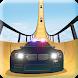 US Police Mega Ramp Car Stunt: Police Cop Car Ramp by microclip