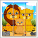 animals puzzles fun game by Adcoms