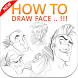 how to draw face by devlopermolka