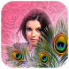 Peacock Feather Photo Frame HD by One key
