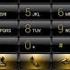 Dialer Black Gold Gloss Skin by Luklek