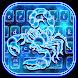 Galaxy Scorpion Keyboard Theme