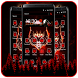 Wicked Fire Wolf Launcher by Cool Wallpaper