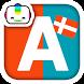 Bogga Alfabet DANSK - lær børn by Boggatap