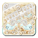 Golden Silver Diamond Lamb Keyboard by Launcher and Keyboard Theme Design