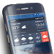 Clock & Weather Widget Pro QQ8 R3D3 C5PO by Weather Widget Theme Dev Team