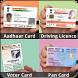 Aadhaar Card Pan Voter Driving by Hindi Apps Store