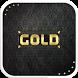 Rose Gold Emoji Keyboard Theme by Colorful Design