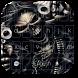 Skull Gun Anger Theme by M Typewriter Theme Studio
