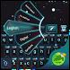Dark Night Go Keyboard by GO T-Me