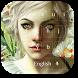Glamour Flower Girl Keyboard by livewallpaperjason
