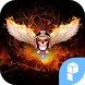 Fire Skull launcher theme by SK techx for themes