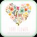 Love Flower go launcher theme by IThemeShop