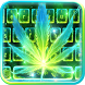 Neon Smoking Weed Keyboard Theme by 2017 Fantasy Keyboard