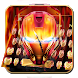Flame Red Robot Fire Keyboard | Revenger Power by Launcher and Keyboard Theme Design