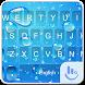 Blue Water Drop Keyboard Theme by Fashion News