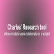 Collaborative Research Tool by Charles Thomas