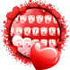 Valentine Love Keyboard Theme by Beauty Themes Plus