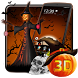 3D Halloween Pumpkin Night Theme by Elegant Theme